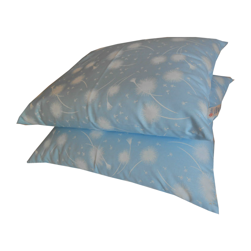 Подушка из гречневой шелухи 40х50 см , тк.Тик (100% хлопок)